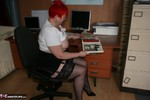 ValgasmicExposed. In The Office Free Pic 11