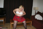LexieCummings. Tartan Skirt Strip Free Pic 6