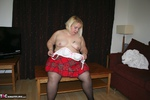 LexieCummings. Tartan Skirt Strip Free Pic 7