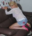 Dimonty. Denim Shorts Free Pic