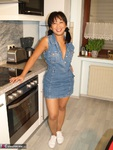 AsianDeepthroat. Sexy Asian Bitch in Jeans Dress Free Pic 1