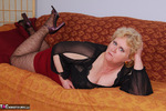 Fanny. Brown Lacy Stockings Free Pic 6