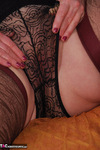 Fanny. Brown Lacy Stockings Free Pic 10