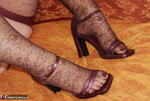 Fanny. Brown Lacy Stockings Free Pic 18