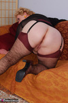 Fanny. Brown Lacy Stockings Free Pic 20