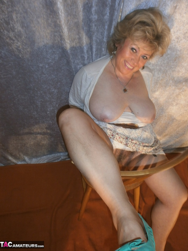 Mature women in garter belts and hose your place