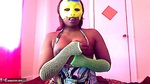 EvetteStar. Yellow Mask Free Pic 7