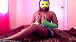 EvetteStar. Yellow Mask Free Pic 9