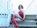 MishaMILF. Lady In Red 2 Free Pic 6
