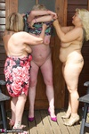 ClaireKnight. Summer House Strip Free Pic 9