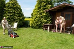 ClaireKnight. Summer House Strip Free Pic 17
