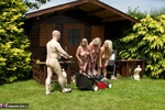 ClaireKnight. Summer House Strip Free Pic 20