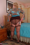 Fanny. Brown Lacy Panties Free Pic 3