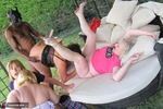 ClaireKnight. Garden Orgy Pt1 Free Pic