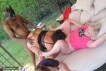 ClaireKnight. Garden Orgy Pt1 Free Pic 10
