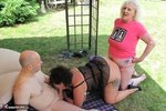 ClaireKnight. Garden Orgy Pt2 Free Pic 12