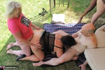 ClaireKnight. Garden Orgy Pt2 Free Pic 13