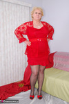 Fanny. Red Top & Nylons Free Pic 1