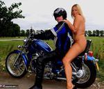 Nude Chrissy. Biker Girl Free Pic 1