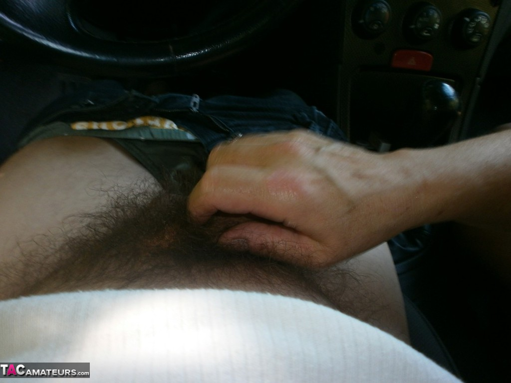 Consider, Jerking off in car