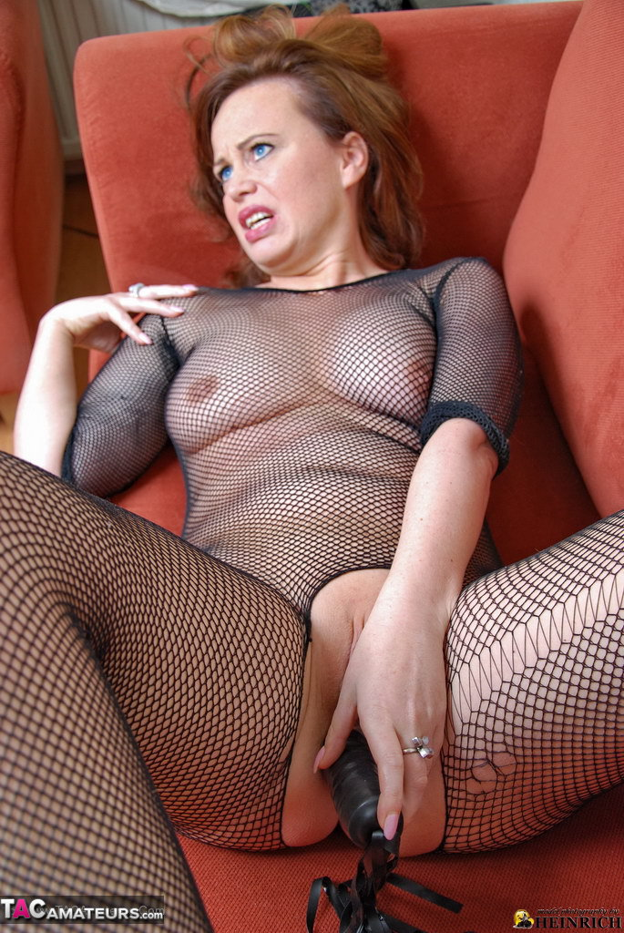 image Over 50 milf enjoys her fingers and his cock in her old cunt