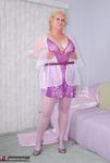 . Sheer White Pantyhose Free Pic 2