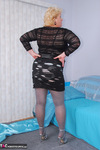 Fanny. Black Holey Skirt Free Pic