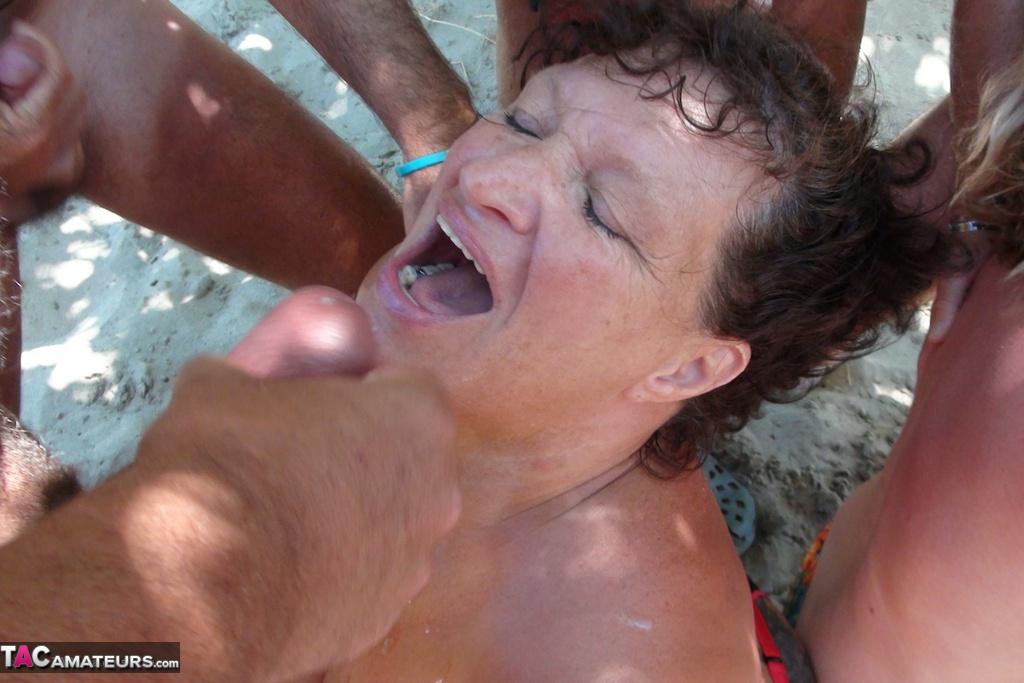 remarkable, big tits milf gangbanged in public bar big tits porno useful topic
