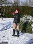 MaryBitch. Red Head In The Snow Free Pic 10