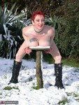 MaryBitch. Red Head In The Snow Free Pic 19