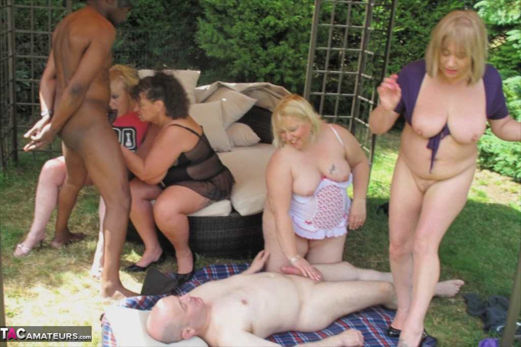 Mature older women orgy