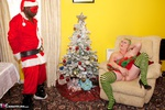 ClaireKnight. Caught By Santa Free Pic 1
