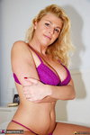 LusciousModels. Sharons Purple Strip Free Pic