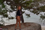 NudeChrissy. A Day At Cap Formentor Free Pic 6