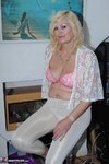 Dimonty. White Trousers & Lace Top Free Pic