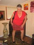Girdle Goddess. Big Red Dildo Free Pic 5