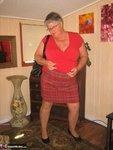 Girdle Goddess. Big Red Dildo Free Pic 6