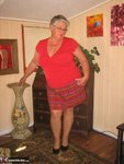 Girdle Goddess. Big Red Dildo Free Pic 7
