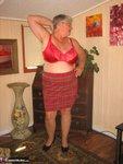 Girdle Goddess. Big Red Dildo Free Pic 8