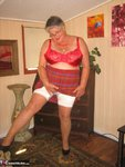 Girdle Goddess. Big Red Dildo Free Pic 9
