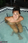 Georgie. Messing about in a jacuzzi Free Pic