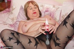 SpeedyBee. Black Star Patterned Tights Free Pic