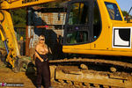 Nude Chrissy. The Excavator Free Pic 4
