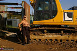 Nude Chrissy. The Excavator Free Pic 5