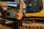 Nude Chrissy. The Excavator Free Pic 8