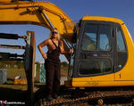 Nude Chrissy. The Excavator Free Pic 12