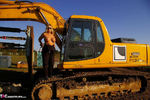 Nude Chrissy. The Excavator Free Pic 15