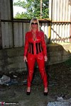 Melody. PVC Cat Suit & Whip Free Pic 1