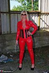 Melody. PVC Cat Suit & Whip Free Pic 2