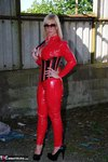 Melody. PVC Cat Suit & Whip Free Pic 3